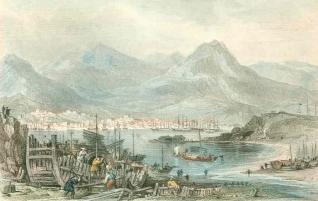 Honk Kong Island en 1840